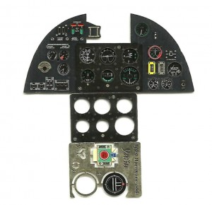 HURRICANE MK.I PE COLORED INSTRUMENT PANEL TO AIRFIX & TRUMPETER